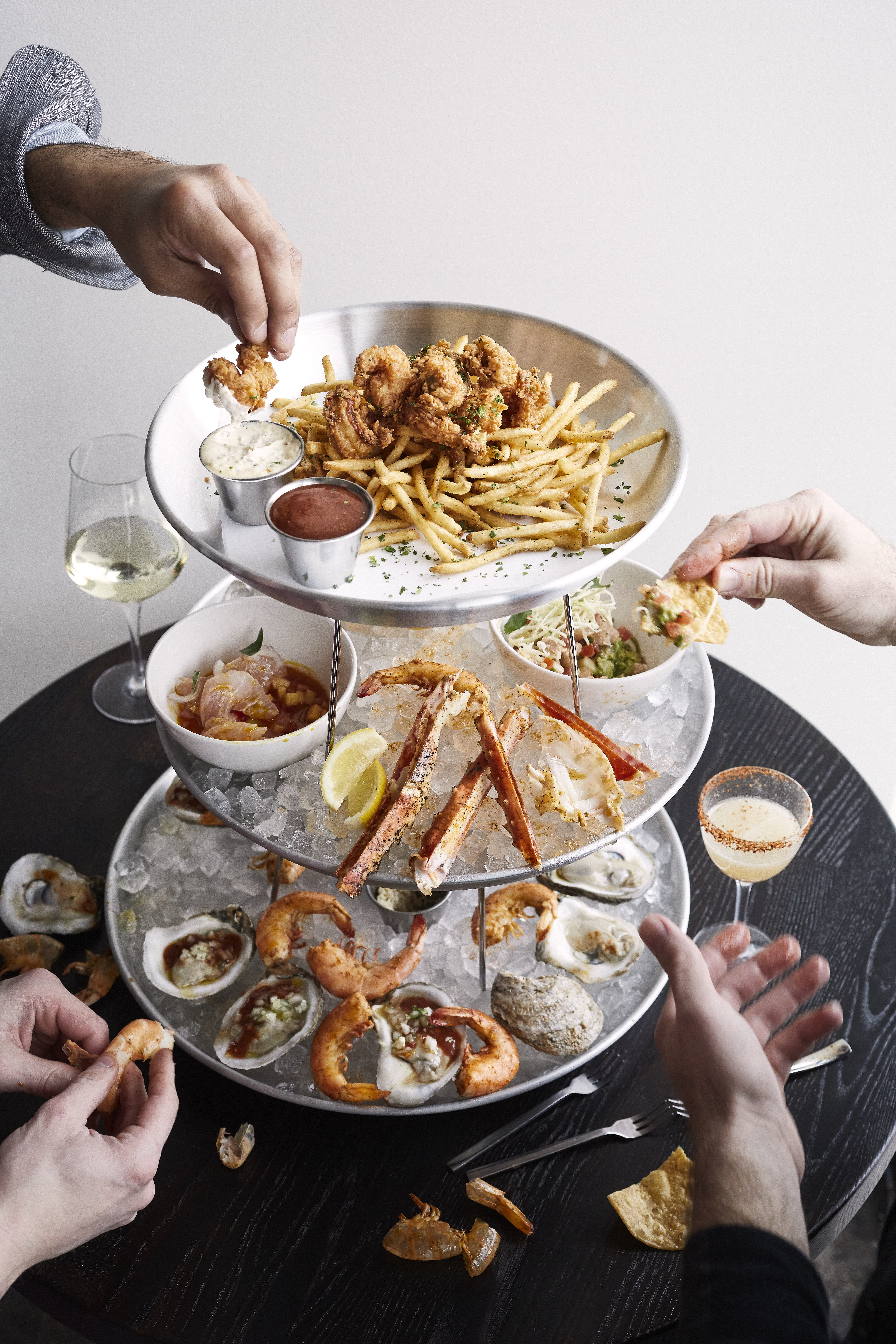Jody Horton - Food Photography - Seafood Tower at Shore Restaurant