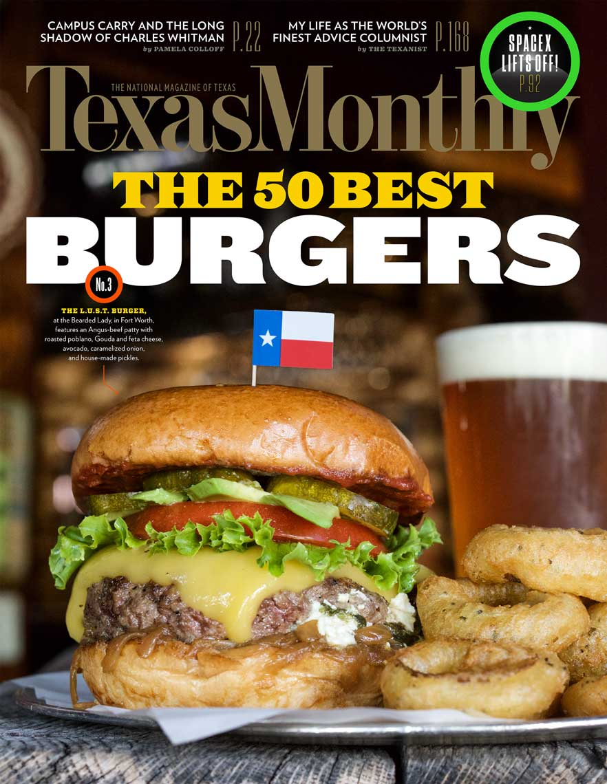 Jody Horton Photography for Texas Monthly Burgers in Texas