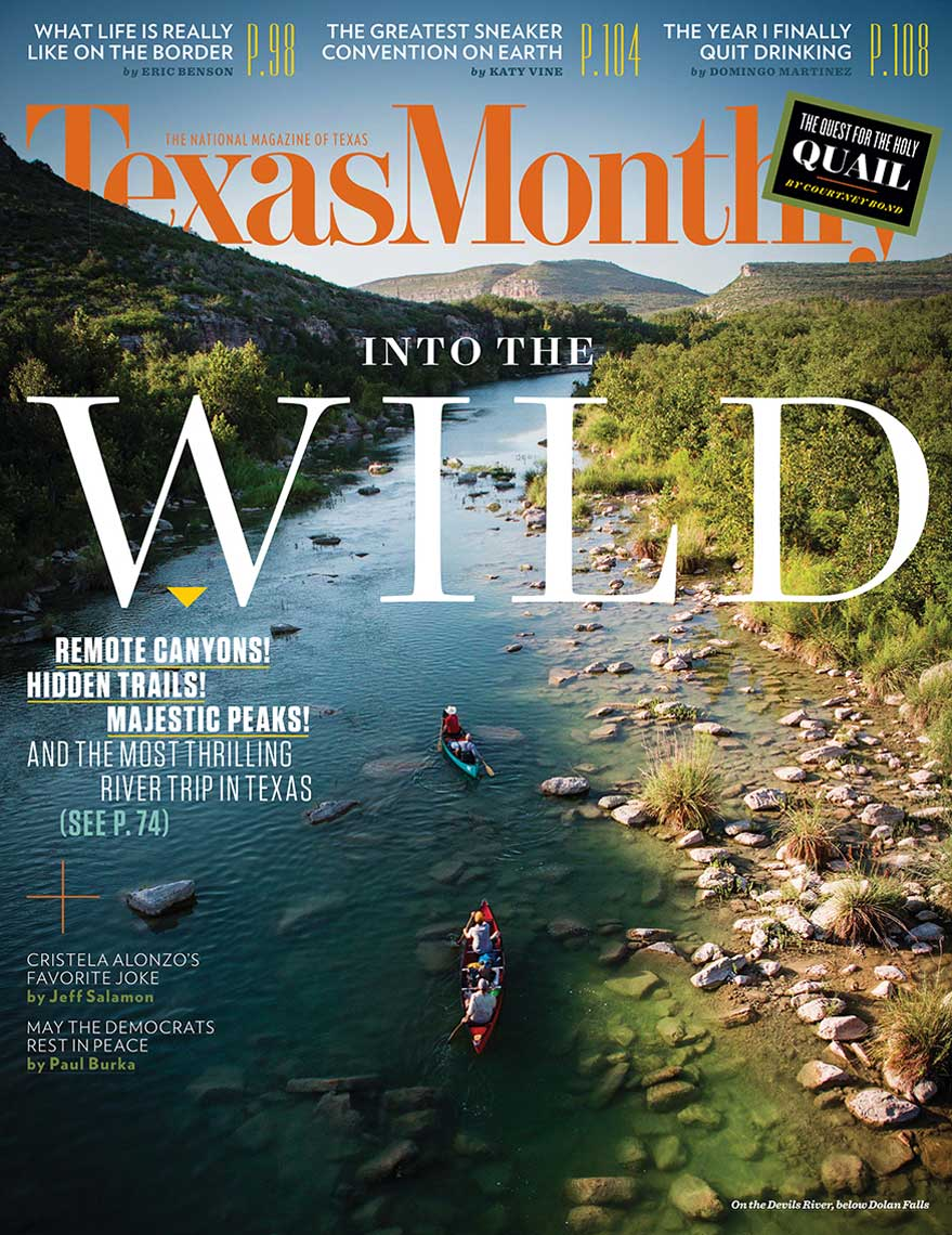 Jody Horton Photography for Texas Monthly Out in the Wild