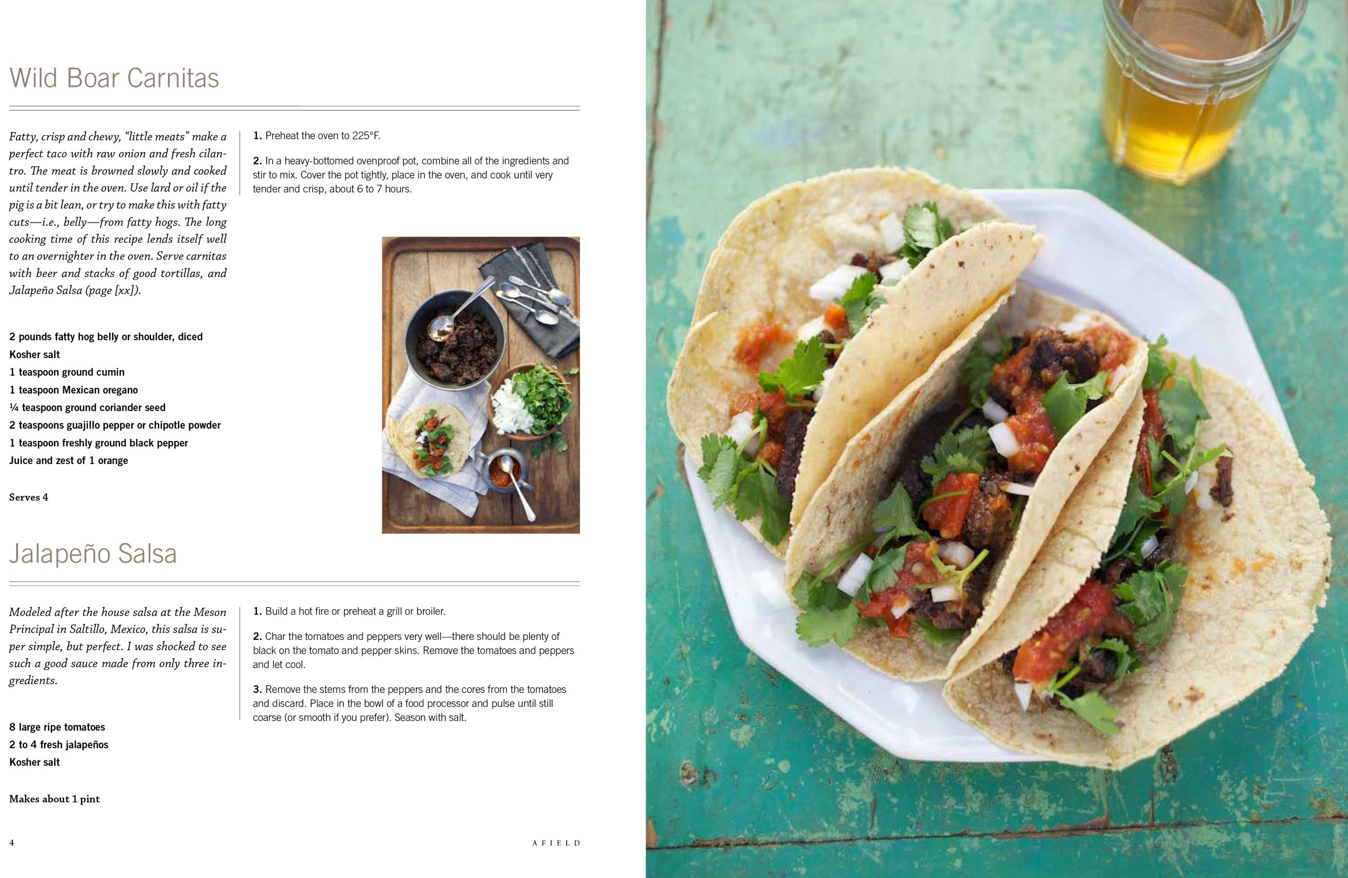 Jody Horton Photography - Wild Boar Carnitas recipe for Afield.