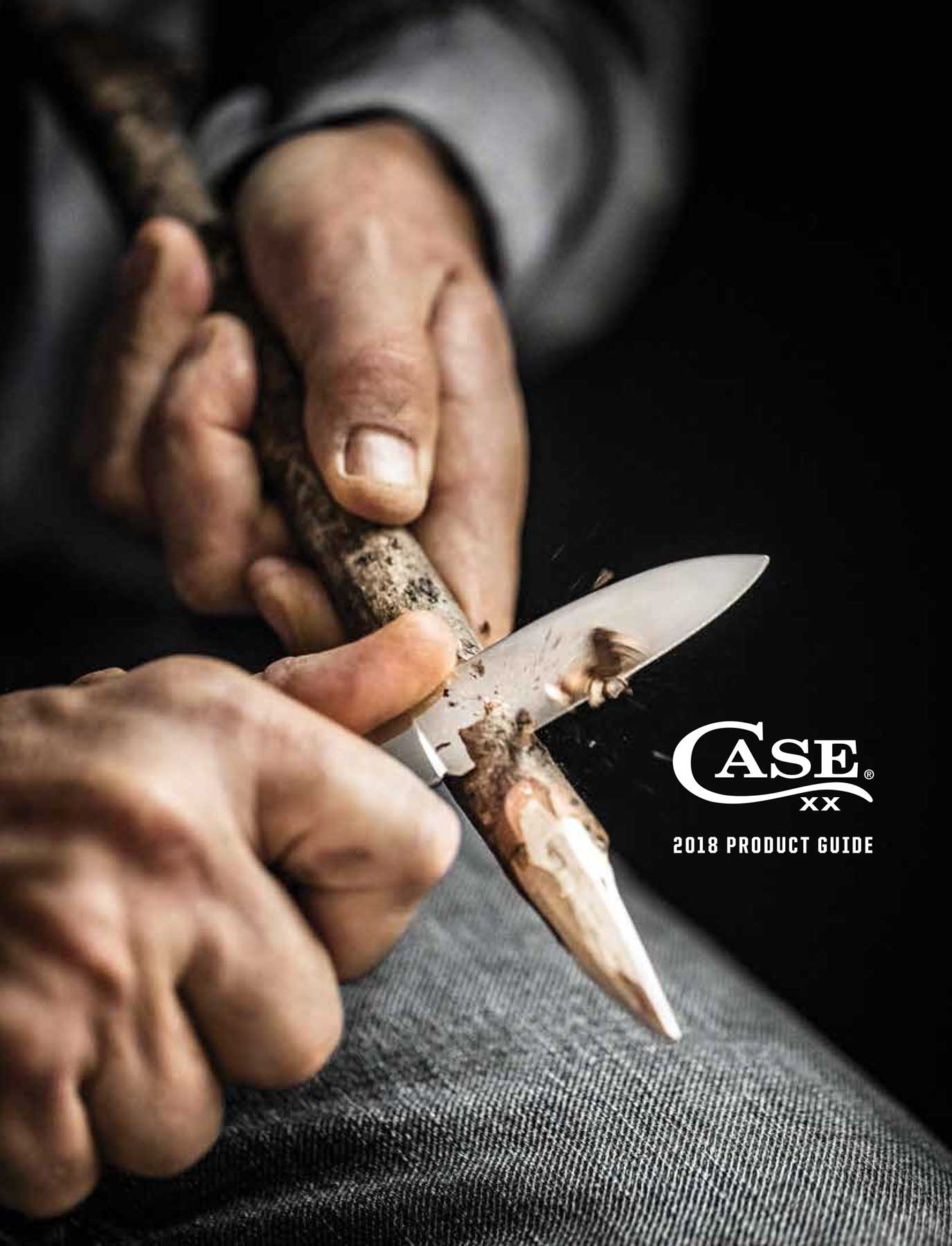 Jody Horton Photography - Ad for Case Knives, small knife sharpening a wood stick.
