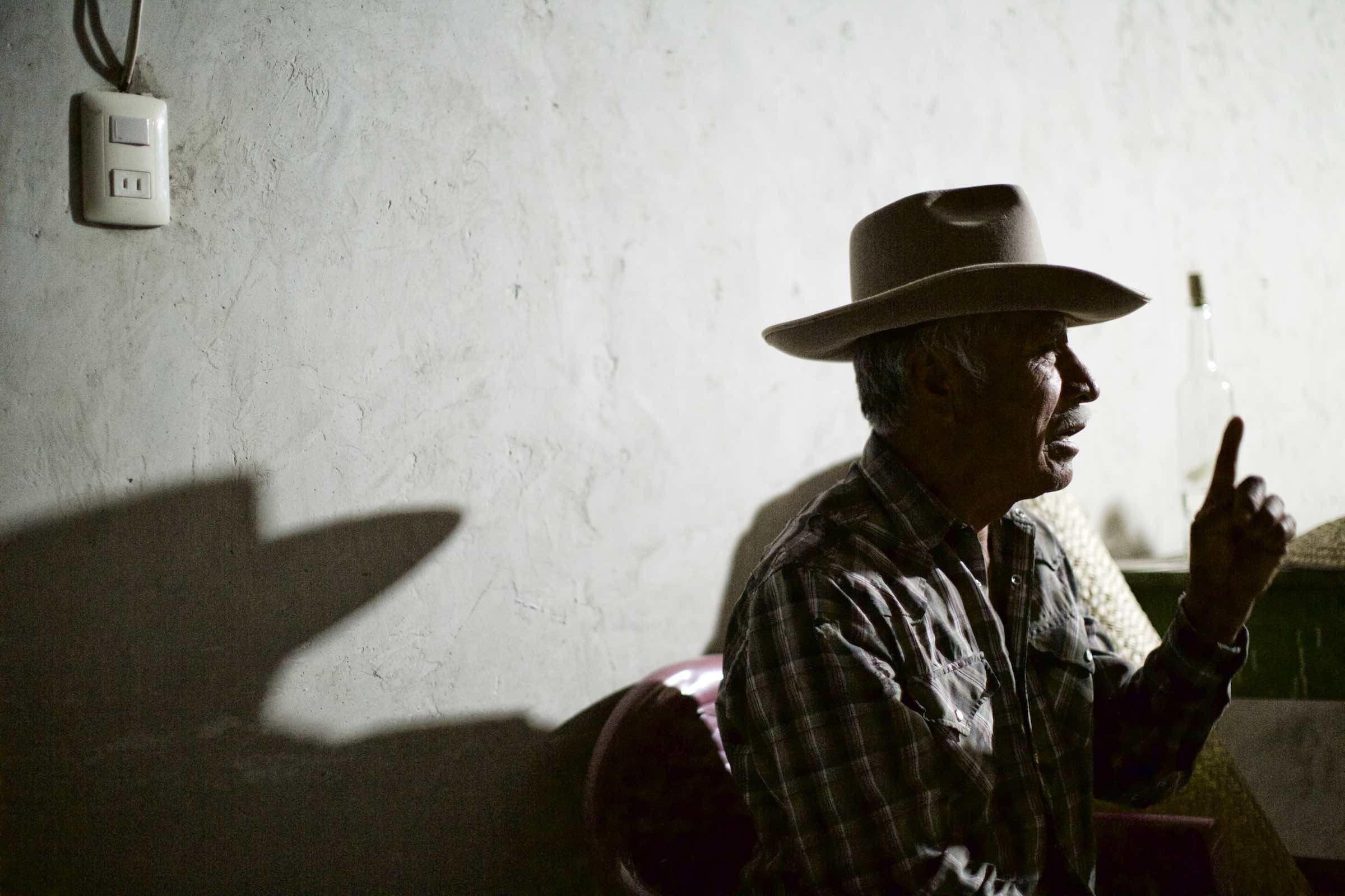 Jody Horton Photography - Agave farmer discussing his life