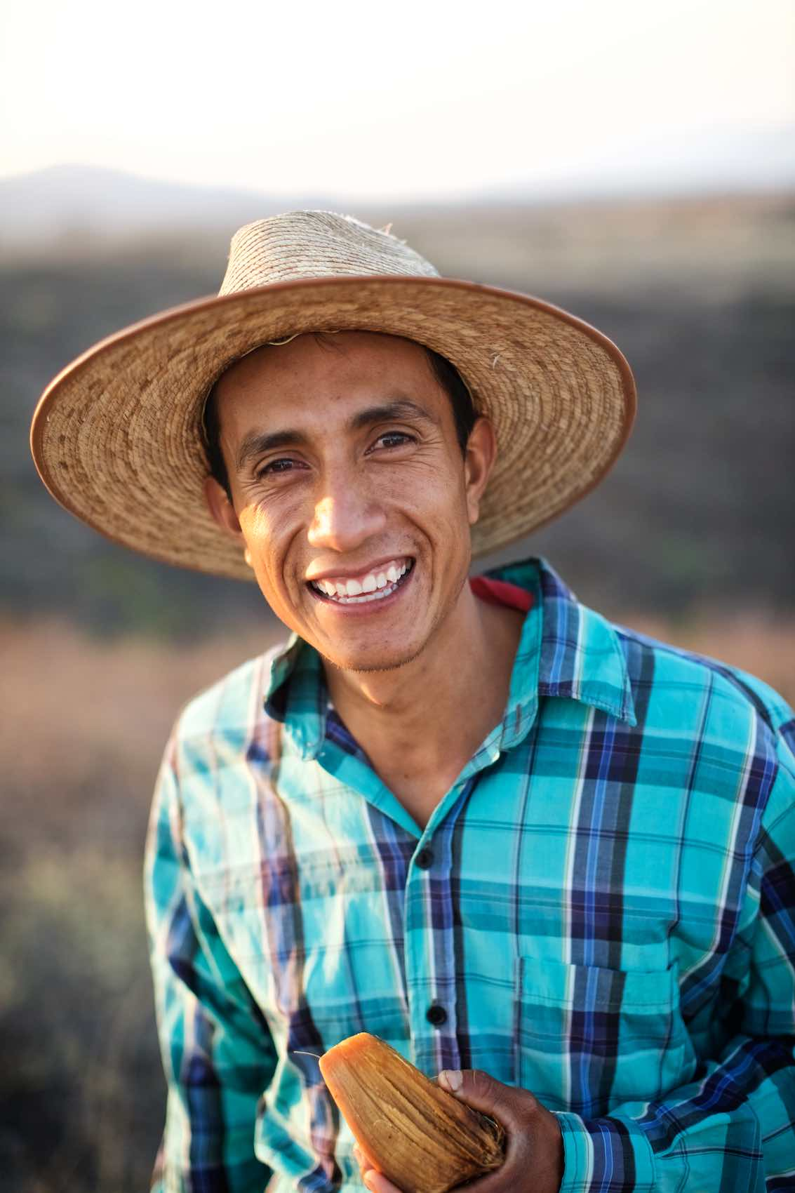 Jody Horton Photography - Young mezcal farmer shot for Garden and Gun.