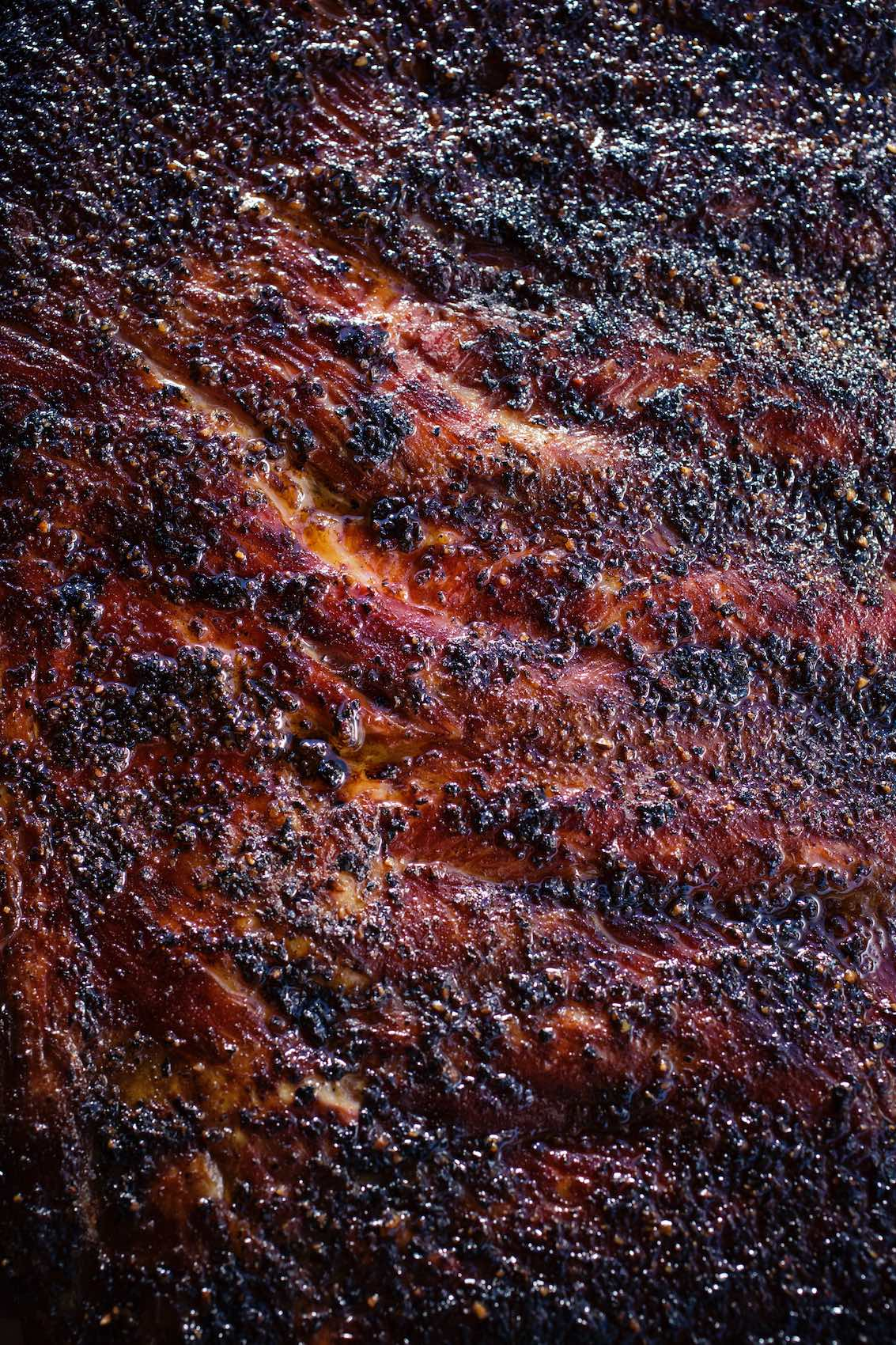 Jody Horton Photography - Barbecued meat skin.