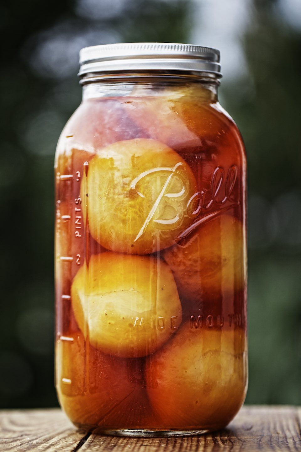 Jody Horton Photography - Mason jar filled used to make pickles and jams.